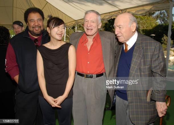 George Duke Hiromi Uehara Hugh Hefner and George Wein festival producer