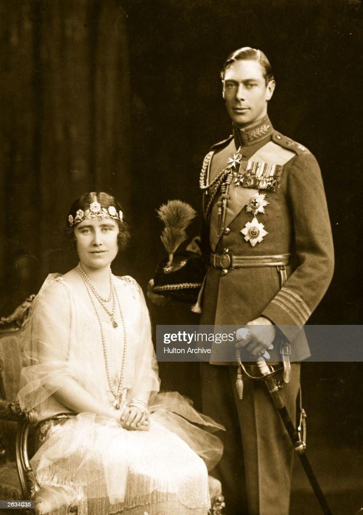 George And Elizabeth : News Photo