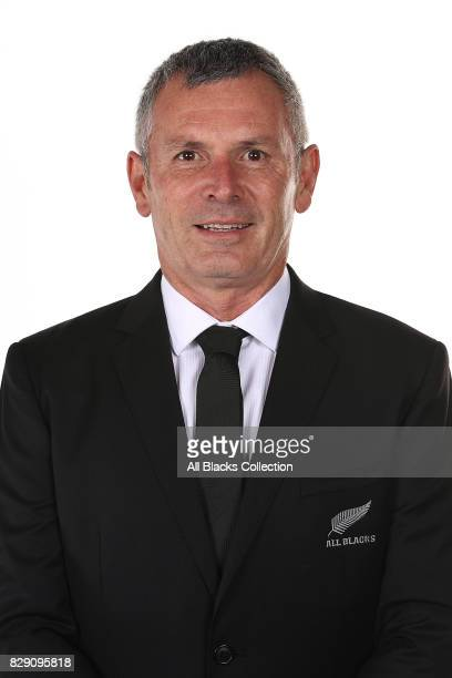 George Duncan poses during a New Zealand All Blacks headshots session at The Heritage Hotel on August 10 2017 in Auckland New Zealand