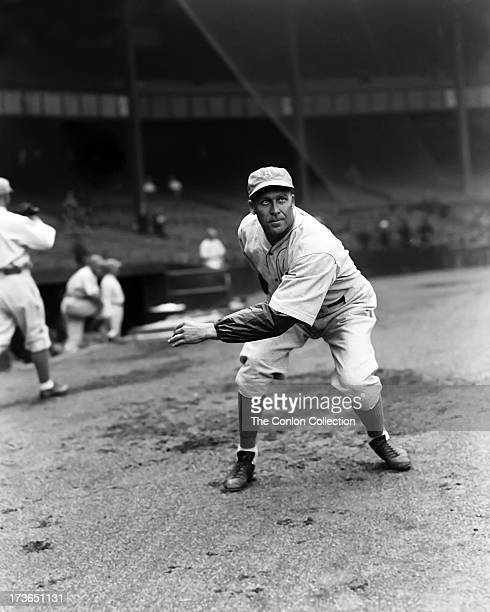 cd23dcae97 George E Walberg of the Philadelphia Athletics in position to catch a ball  in 1933