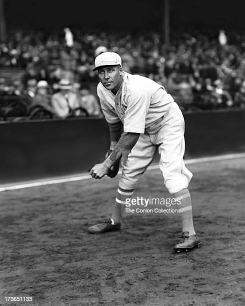 97bec80718 George E Walberg of the Philadelphia Athletics in position to catch a ball  in 1938