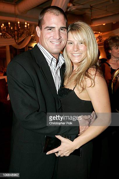 George Eads and guest during 31st Annual People's Choice Awards After Party Inside at Twin Palms Restaurant in Pasadena California United States