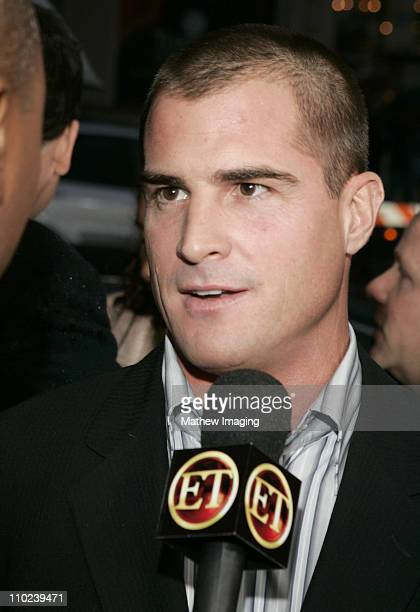 George Eads during 31st Annual People's Choice Awards ET and The Insider Arrivals at Pasadena Civic Auditorium in Pasadena California United States