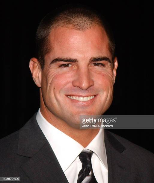 George Eads during CSI 100th Episode Celebration at Hanger 8 in Santa Monica California United States