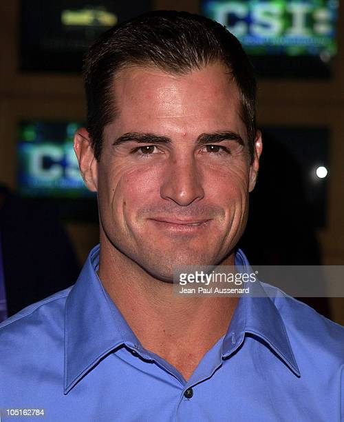 George Eads during CSI Crime Scene Investigation Fourth Season Premiere Screening at Museum of Television and Radio in Beverly Hills California...