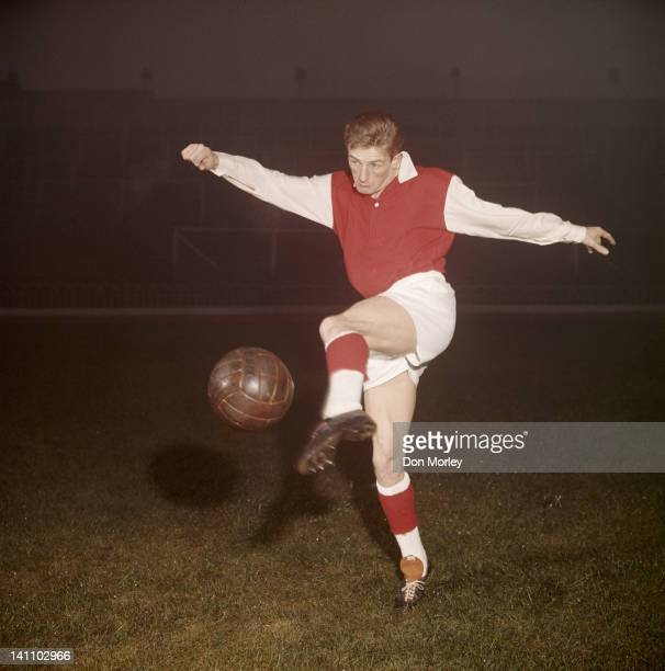 George Eastham of Arsenal FC 1st December 1960 at the Arsenal Stadium in Highbury London Great Britain