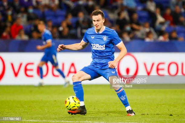 George EDMUNDSON of Rangers during the Veolia Trophy match between Lyon and Glasgow Rangers at Groupama Stadium on July 16 2020 in Lyon France