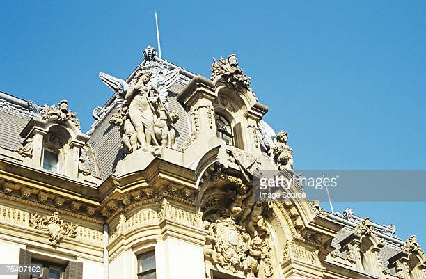 george enescu museum bucharest - bucharest stock pictures, royalty-free photos & images
