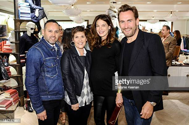 George Esquivel Shelley Esquivel Michelle Monaghan and Peter White attend Tommy Hilfiger Celebrates George Esquivel Capsule Footwear Collection in...