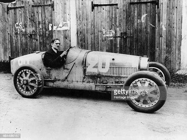 George Eyston in a 1927 Bugatti Type 35B The Bugatti T35 was one of the most successful racing cars ever built in terms of number of races won...