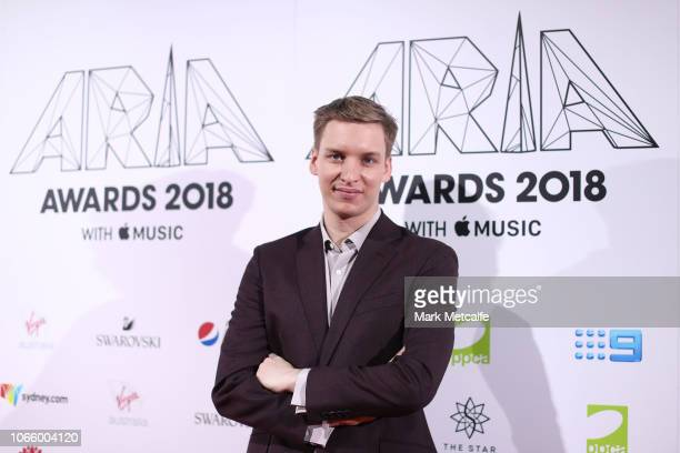 George Ezra arrives for the 32nd Annual ARIA Awards 2018 at The Star on November 28 2018 in Sydney Australia