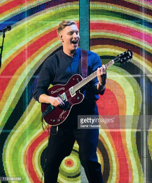George Ezra during The BRIT Awards 2019 held at The O2 Arena on February 20 2019 in London England
