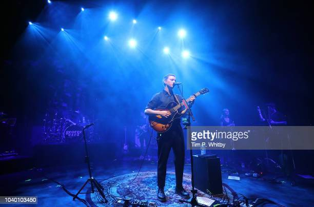 George Ezra performing at Absolute Radio's 10th birthday gig at O2 Shepherd's Bush Empire on September 25 2018 in London England