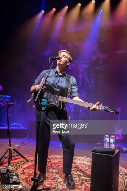 George Ezra performs at Absolute Radio's 10th Birthday Gig at O2 Shepherd's Bush Empire on September 25 2018 in London England