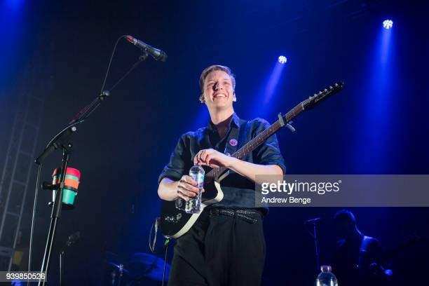 George Ezra performs at O2 Academy Leeds on March 29 2018 in Leeds England