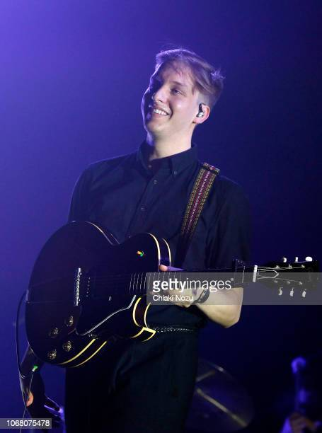 George Ezra performs at SSE Arena Wembley on November 15 2018 in London England