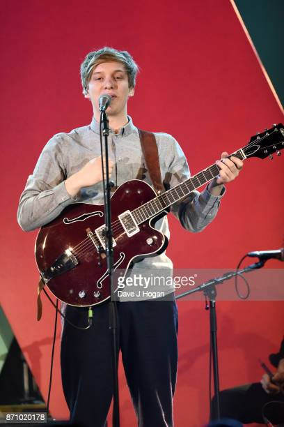 George Ezra performs at the 26th annual Music Industry Trust Awards held at The Grosvenor House Hotel on November 6 2017 in London England