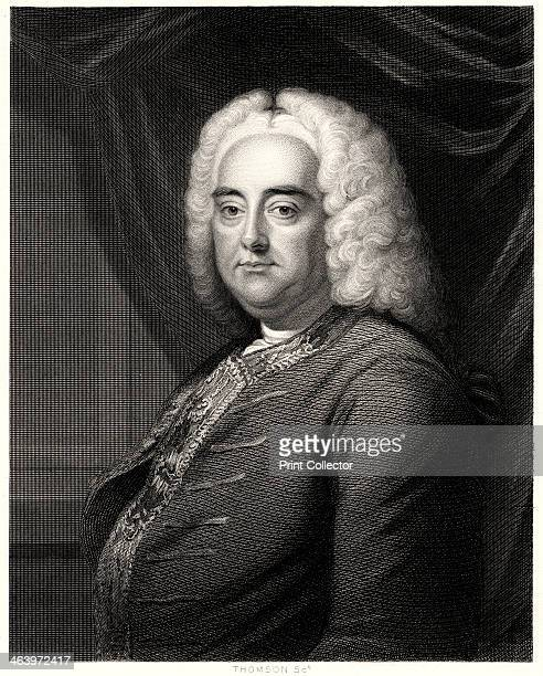 'George F Handel', 19th century. The German Baroque composer George Frideric Handel , who lived much of his life in England, where he composed his...