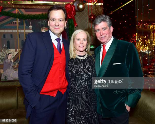 George Farias Anne Hearst McInerney and Jay McInerney attend A Christmas Cheer Holiday Party 2017 Hosted by George Farias and Anne and Jay McInerney...