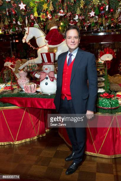 George Farias attends A Christmas Cheer Holiday Party 2017 Hosted by George Farias and Anne and Jay McInerney at The Doubles Club on December 14 2017...