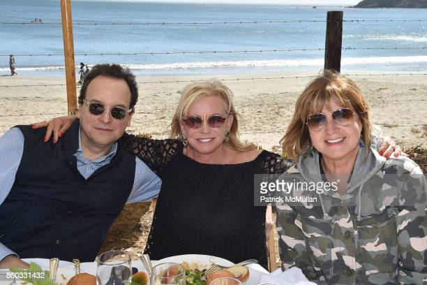 George Farias Sharon Bush and Milly de Cabrol attend Hearst Castle Preservation Foundation Annual Benefit Weekend Lunch at the Hearst Ranch Wine...