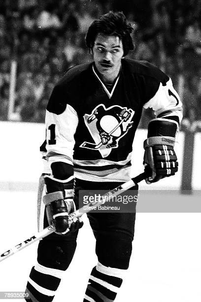 san francisco 7de0b 7f273 BOSTON, MA. George Ferguson of the Pittsburgh Penguins plays ...