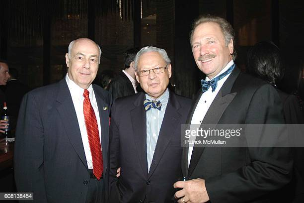 George Fiori Clive Cummus and Arthur Moranti attend Jared Kushner and Peter Kaplan Present the Relaunch of the New York Observer Website at Four...