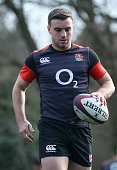 bagshot england george ford looks during