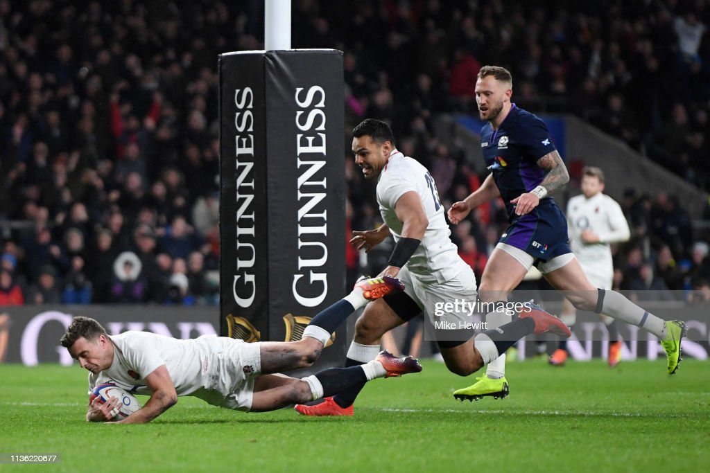England v Scotland - Guinness Six Nations : Fotografía de noticias