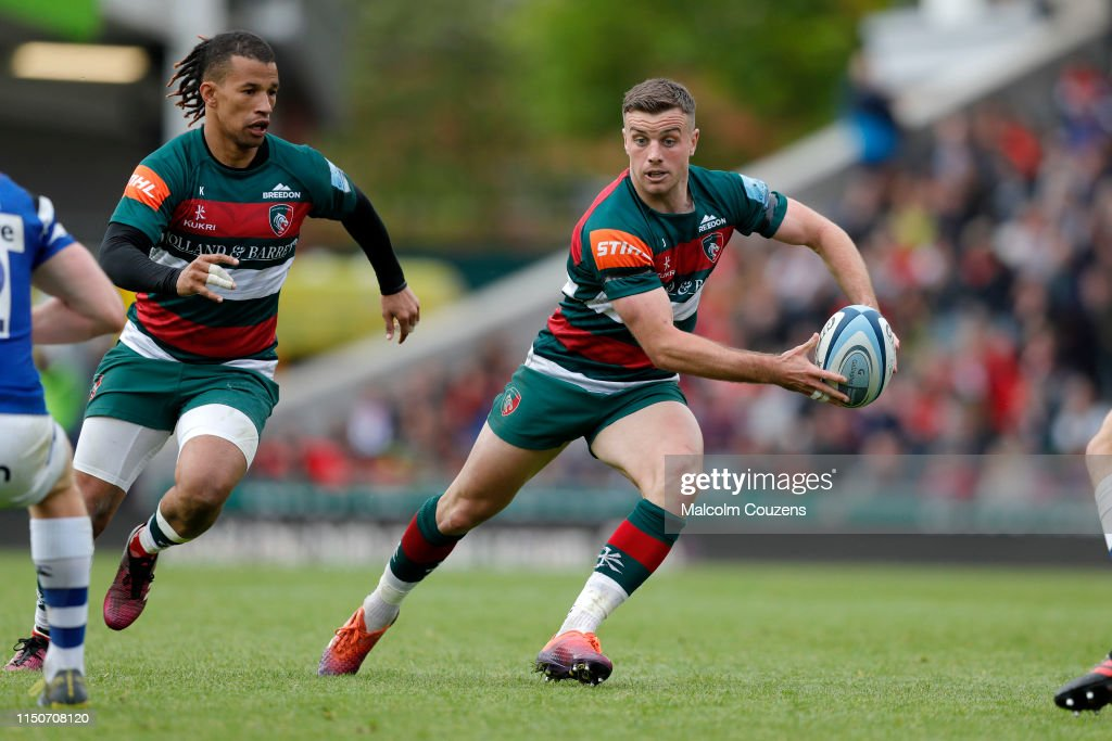 Leicester Tigers v Bath Rugby - Gallagher Premiership Rugby : News Photo