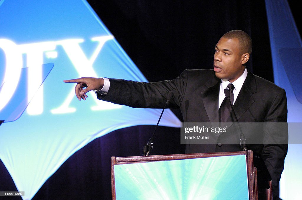 George Foreman Jr. during OverTime Magazine's OT X Awards at Omni Hotel in Atlanta, Georgia, United States.