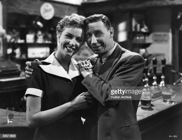 George Formby and Rosalyn Boulter star in the Columbia film 'George In Civvy Street' a mild comedy directed by Marcel Varnel