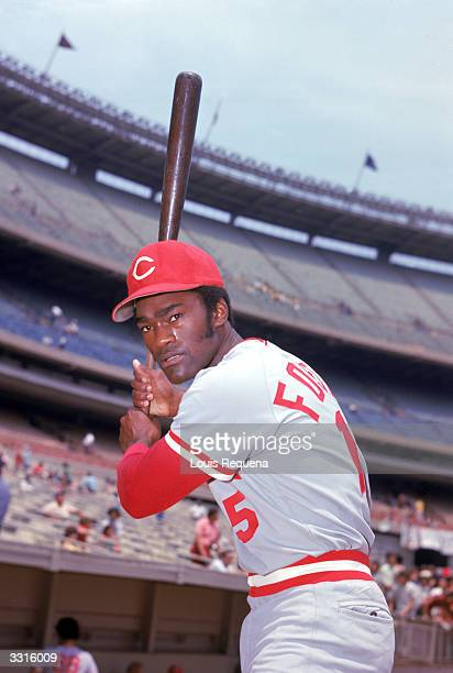 George Foster of the Cincinnati Reds poses for a portrait circa 197181
