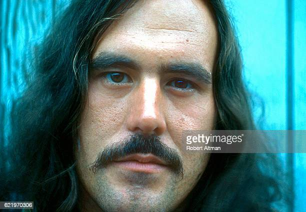 George Frayne also known as Commander Cody and His Lost Planet Airmen poses for a portrait outside The Record Plant circa November 1974 in Sausalito...