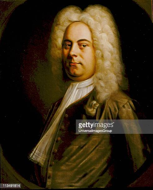 George Frederic Handel German-born composer who settled in England. Portrait of 1726-1728 attributed to Balthasar Denner . Oil on canvas.