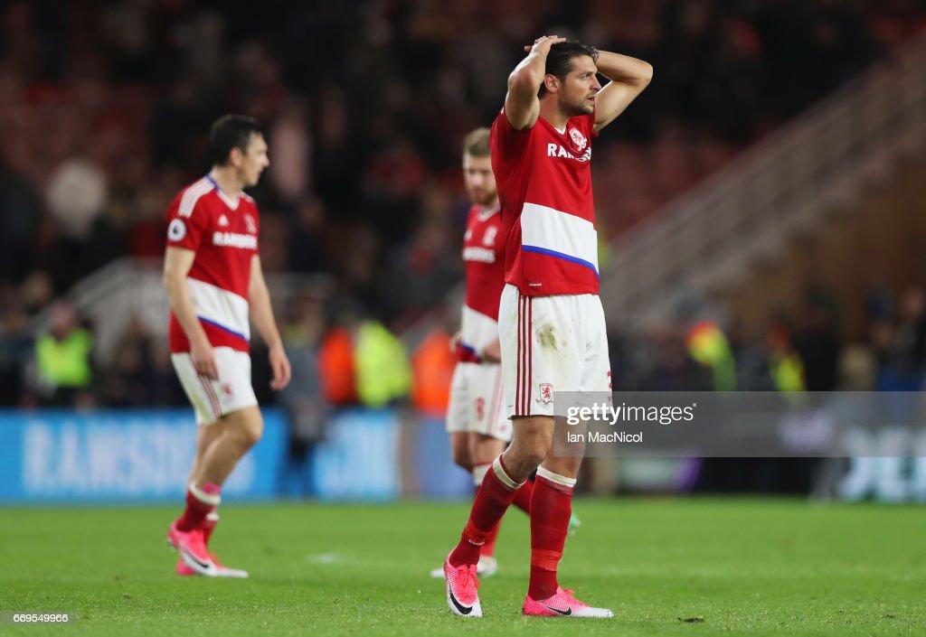 Middlesbrough v Arsenal - Premier League : News Photo
