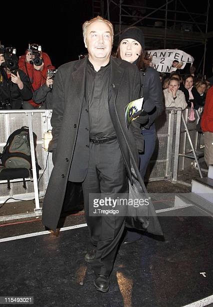 George Galloway and Davina McCall during Celebrity Big Brother 4 Fourth Eviction George Galloway at Elstree Studios in London Great Britain