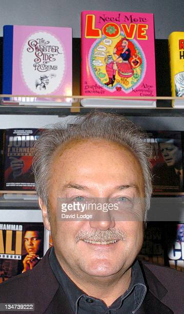 George Galloway MP during George Galloway MP Launches His Book Fidel Castro Handbook at the 2006 London Book Fair at ExCel Centre in London Great...