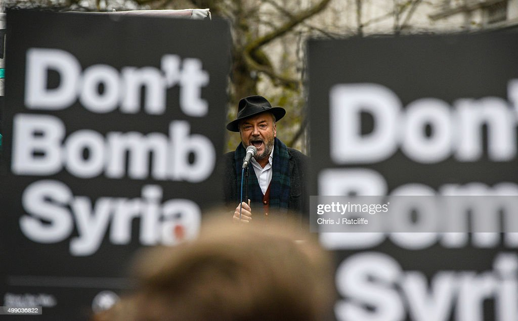 Anti-War Protesters Gather Outside Downing Street