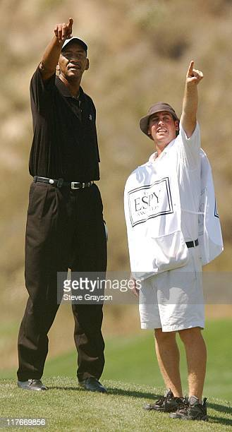 George Gervin during 2003 ESPY Awards Celebrity Golf Classic at Lost Canyons Country Club in Simi Valley California United States