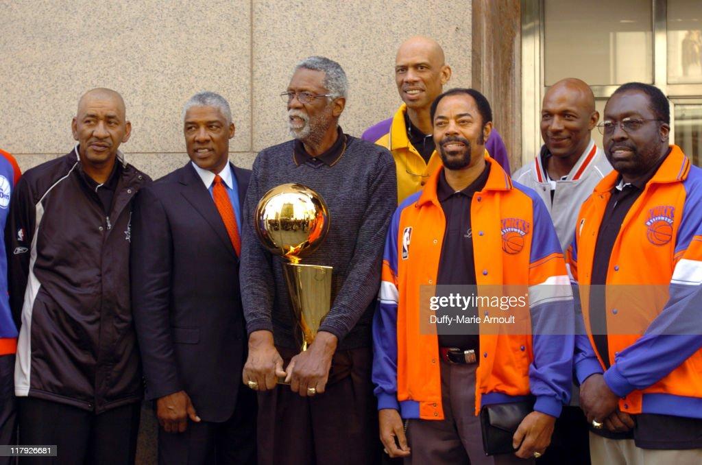 NBA Legends Launch 2005 Destination Finals Tour - April 21, 2005