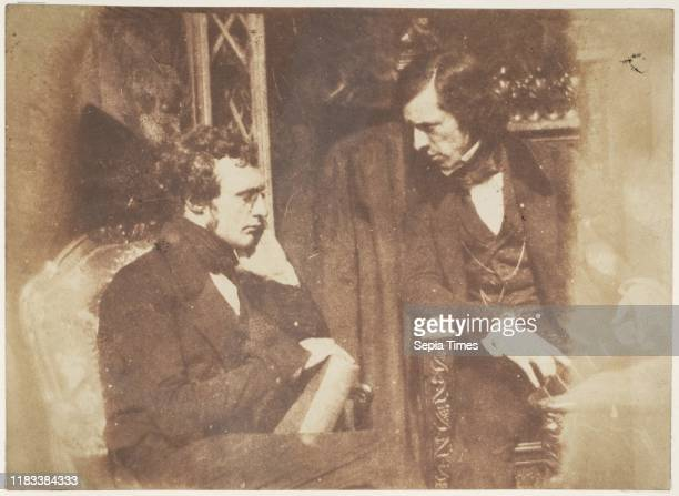 George Gilfillan and Samuel Brown 184347 Salted paper print from paper negative Photographs David Octavius Hill Robert Adamson