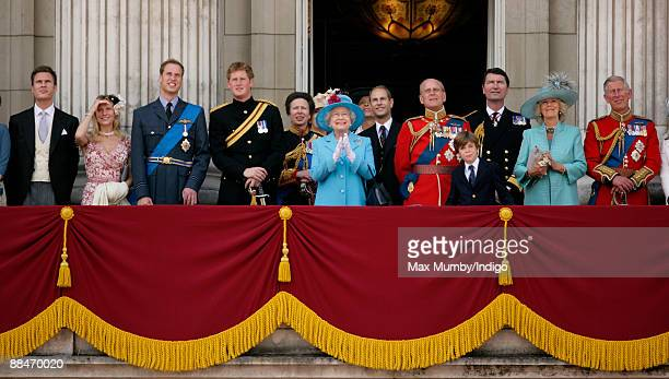 George Gilman Lady Rose Gilman HRH Prince William HRH Prince Harry HRH Princess Anne The Princess Royal HM Queen Elizabeth II HRH Prince Edward The...
