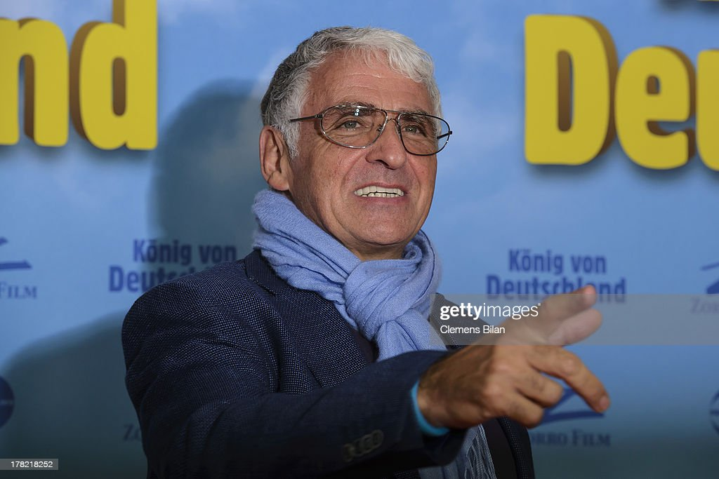 George Glueck attends the 'Koenig von Deutschland' Berlin premiere at Kino International on August 27, 2013 in Berlin, Germany.