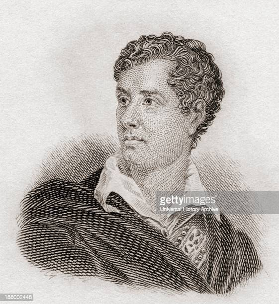 George Gordon Byron, 6Th Baron Byron, 1788 To 1824, Aka Lord Byron. English Poet And Leading Figure In Romanticism. From Crabb's Historical...