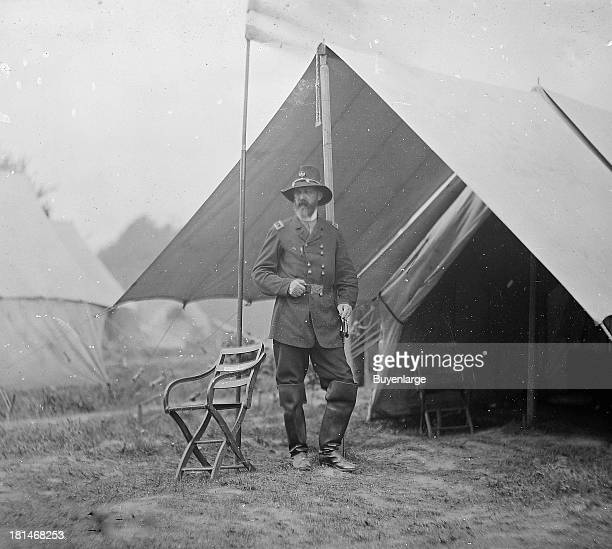 George Gordon Meade best known for defeating Confederate General Robert E Lee at the Battle of Gettysburg in 1863