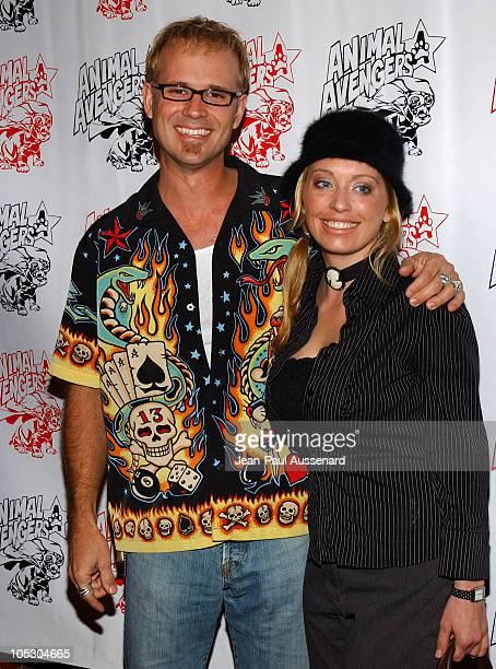 George Gray and guest during Luck of The Paw Casino Night and Silent Auction to Benefit Animal Avengers at The Victorian in Santa Monica California...
