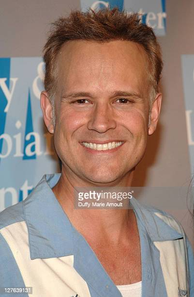 George Gray attends LA Gay and Lesbian Center's An Evening with Women at The Beverly Hilton hotel on April 16 2011 in Beverly Hills California