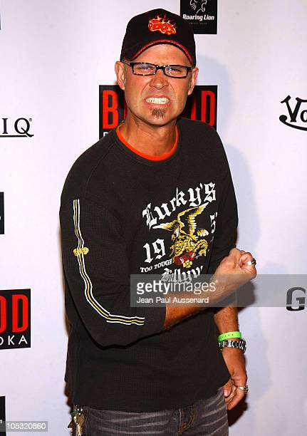 George Gray during Von Dutch Designer Christian Audigier's Birthday Celebration at Private residence in Hollywood California United States
