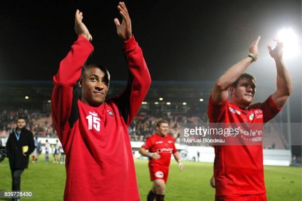 George GREGAN Blagnac / Toulon 2e journ ee pro D2